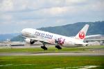 ザビエルさんが、伊丹空港で撮影した日本航空 777-246の航空フォト(飛行機 写真・画像)