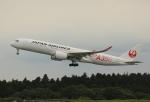 ケロさんが、成田国際空港で撮影した日本航空 A350-941XWBの航空フォト(写真)