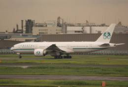 ケロさんが、羽田空港で撮影したクリスタル・ラグジュアリー・エア 777-29M/LRの航空フォト(写真)