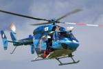 レガシィさんが、宇都宮飛行場で撮影した栃木県警察 BK117C-1の航空フォト(写真)