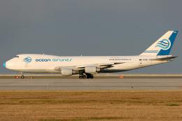 Hariboさんが、中部国際空港で撮影したオーシャンエアラインズ 747-230F/SCDの航空フォト(写真)