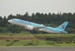 ケロさんが、成田国際空港で撮影した大韓航空 BD-500-1A11 CSeries CS300の航空フォト(飛行機 写真・画像)