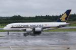 ryu330さんが、成田国際空港で撮影したシンガポール航空 A380-841の航空フォト(写真)