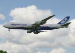 雲霧さんが、成田国際空港で撮影した日本貨物航空 747-8KZF/SCDの航空フォト(写真)