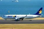 Hiro-hiroさんが、羽田空港で撮影したスカイマーク 737-86Nの航空フォト(写真)