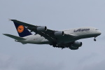steraziyさんが、シンガポール・チャンギ国際空港で撮影したルフトハンザドイツ航空 A380-841の航空フォト(飛行機 写真・画像)