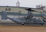 とびたさんが、明野駐屯地で撮影したアメリカ海兵隊 MV-22Bの航空フォト(写真)