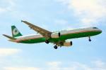 ちっとろむさんが、成田国際空港で撮影したエバー航空 A321-211の航空フォト(写真)
