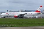 Wings Flapさんが、成田国際空港で撮影したオーストリア航空 777-2B8/ERの航空フォト(写真)