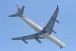 cornicheさんが、ドーハ国際空港で撮影したカタールアミリフライト A340-313Xの航空フォト(飛行機 写真・画像)
