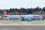 panchiさんが、成田国際空港で撮影したスイスインターナショナルエアラインズ A340-313Xの航空フォト(写真)