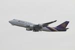 matsuさんが、フランクフルト国際空港で撮影したタイ国際航空 747-4D7(BCF)の航空フォト(写真)