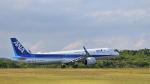 オキシドールさんが、広島空港で撮影した全日空 A321-272Nの航空フォト(写真)