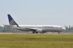 kumagorouさんが、仙台空港で撮影したコンチネンタル航空 737-824の航空フォト(飛行機 写真・画像)