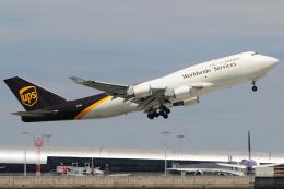 きんめいさんが、関西国際空港で撮影したUPS航空 747-45E(BDSF)の航空フォト(飛行機 写真・画像)