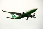 まいけるさんが、スワンナプーム国際空港で撮影したエバー航空 A330-203の航空フォト(写真)