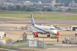 tamtam3839さんが、名古屋飛行場で撮影した三菱航空機 MRJ90STDの航空フォト(写真)