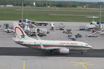 matsuさんが、フランクフルト国際空港で撮影したロイヤル・エア・モロッコ 737-7B6の航空フォト(飛行機 写真・画像)