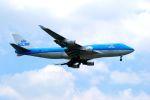 まいけるさんが、スワンナプーム国際空港で撮影したKLMオランダ航空 747-406Mの航空フォト(写真)