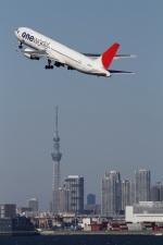 Hariboさんが、羽田空港で撮影した日本航空 767-346の航空フォト(写真)