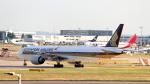 誘喜さんが、ロンドン・ヒースロー空港で撮影したシンガポール航空 777-312/ERの航空フォト(写真)