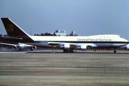 tassさんが、成田国際空港で撮影したUPS航空 747-123(SF)の航空フォト(飛行機 写真・画像)
