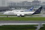 mich_stoneさんが、羽田空港で撮影したルフトハンザドイツ航空 747-830の航空フォト(写真)