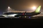 ゆう改めてさんが、熊本空港で撮影したソラシド エア 737-86Nの航空フォト(写真)