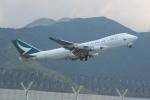 OMAさんが、香港国際空港で撮影したキャセイパシフィック航空 747-467F/ER/SCDの航空フォト(飛行機 写真・画像)