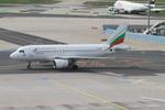matsuさんが、フランクフルト国際空港で撮影したブルガリア航空 A319-112の航空フォト(飛行機 写真・画像)