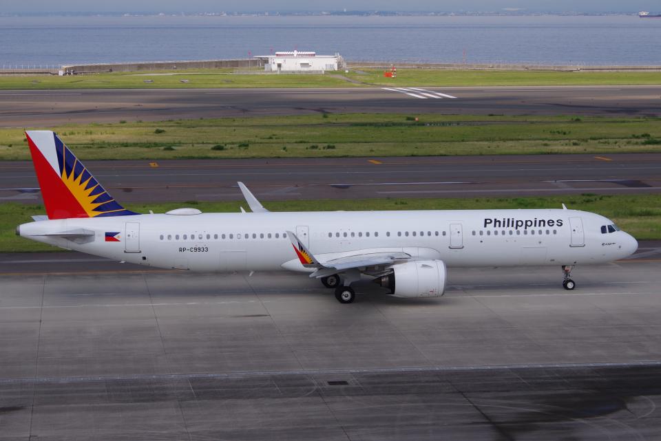 yabyanさんのフィリピン航空 Airbus A321neo (RP-C9933) 航空フォト