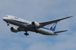 木人さんが、成田国際空港で撮影した全日空 787-9の航空フォト(写真)
