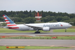 水月さんが、成田国際空港で撮影したアメリカン航空 777-223/ERの航空フォト(写真)