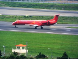 PW4090さんが、済州国際空港で撮影したコリアエクスプレスエア ERJ-145LRの航空フォト(飛行機 写真・画像)