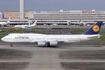 ぐっちーさんが、羽田空港で撮影したルフトハンザドイツ航空 747-830の航空フォト(写真)