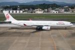 kan787allさんが、福岡空港で撮影したキャセイドラゴン A330-342の航空フォト(写真)
