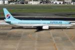 kan787allさんが、福岡空港で撮影した大韓航空 737-9B5の航空フォト(写真)