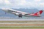 安芸あすかさんが、関西国際空港で撮影したカーゴルクス・イタリア 747-4R7F/SCDの航空フォト(写真)