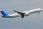 きんめいさんが、関西国際空港で撮影したガルーダ・インドネシア航空 A330-343Xの航空フォト(写真)