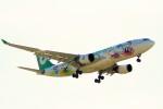 ちっとろむさんが、成田国際空港で撮影したエバー航空 A330-203の航空フォト(写真)