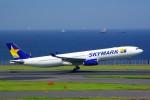 ちっとろむさんが、羽田空港で撮影したスカイマーク A330-343Xの航空フォト(飛行機 写真・画像)