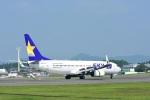masatakaさんが、鹿児島空港で撮影したスカイマーク 737-82Yの航空フォト(写真)