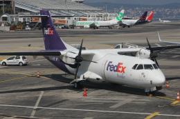 Sharp Fukudaさんが、ニース・コートダジュール空港で撮影したフェデックス・エクスプレス ATR 42-300Fの航空フォト(飛行機 写真・画像)