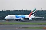 T.Sazenさんが、成田国際空港で撮影したエミレーツ航空 A380-861の航空フォト(飛行機 写真・画像)