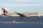 Hariboさんが、関西国際空港で撮影したカタール航空 777-2DZ/LRの航空フォト(写真)