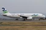 Hariboさんが、静岡空港で撮影したスカイウィングス・アジア・エアラインズ A320-231の航空フォト(写真)