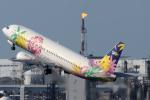 Hariboさんが、羽田空港で撮影したスカイネットアジア航空 737-4Y0の航空フォト(写真)