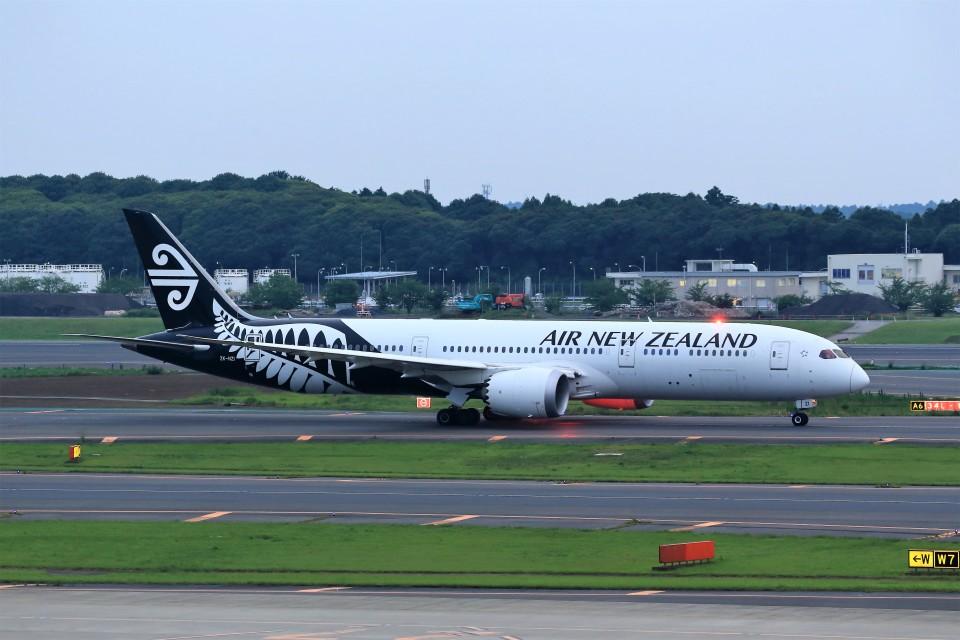 T.Sazenさんのニュージーランド航空 Boeing 787-9 (ZK-NZI) 航空フォト