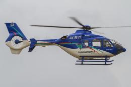西風さんが、大館能代空港で撮影した東北エアサービス EC135P2+の航空フォト(飛行機 写真・画像)