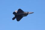 Liangさんが、チェリーキャピタル空港で撮影したアメリカ空軍 F-22A-35-LM Raptorの航空フォト(写真)